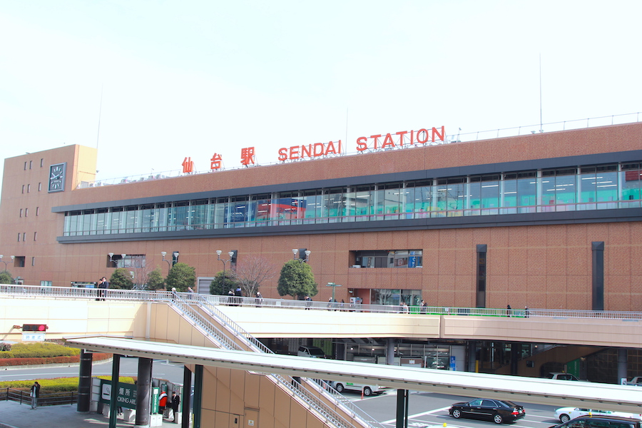 仙台駅の画像