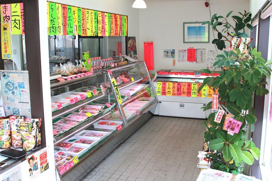 肉のささきの店内画像