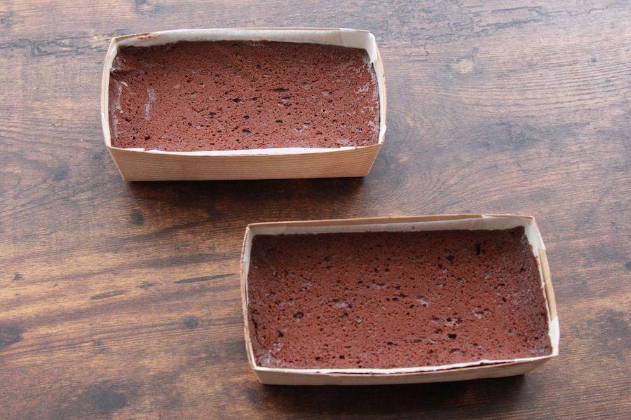 ガトーショコラを並べた画像