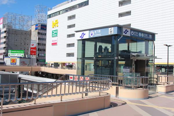 仙台大観音のバス停の画像