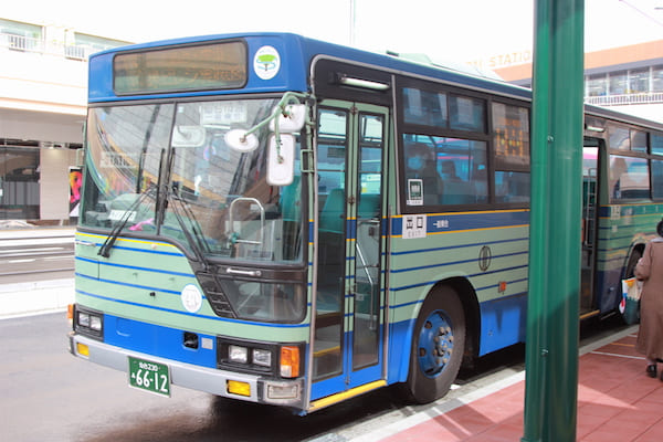 仙台駅から仙台大観音までのバスの画像