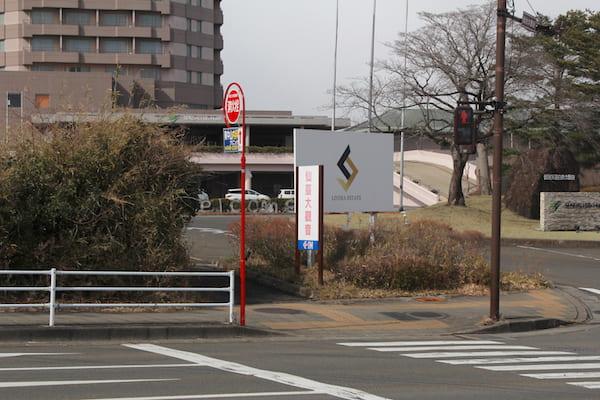仙台大観音の入り口の画像