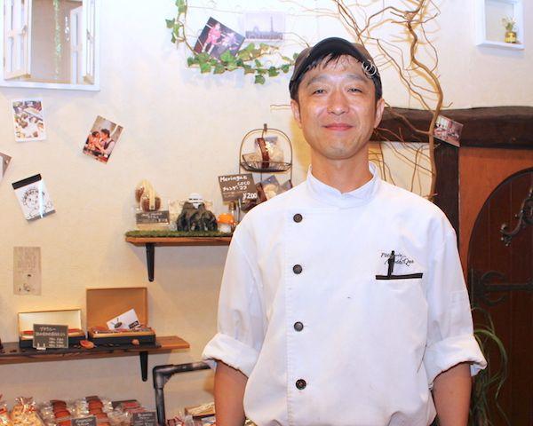 オーナーパティシエ土田さんの画像