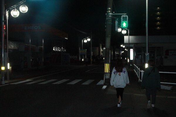 名取駅を超えてからの画像