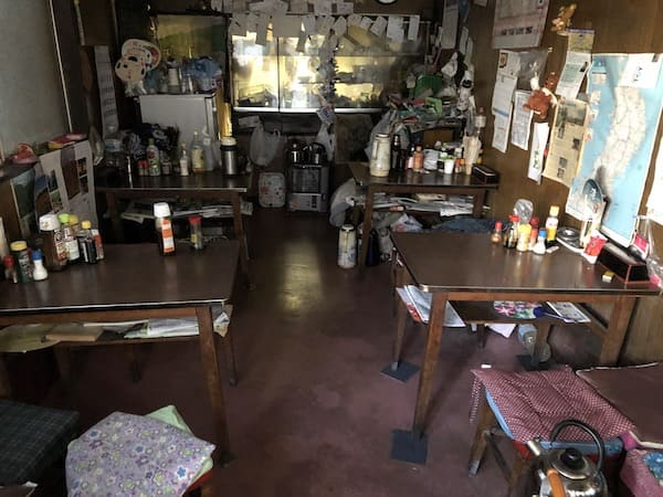 三好食堂の店内の画像