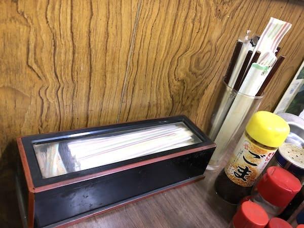 三好食堂の割り箸の画像