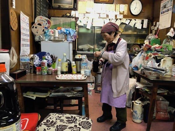 三好食堂の店長の画像
