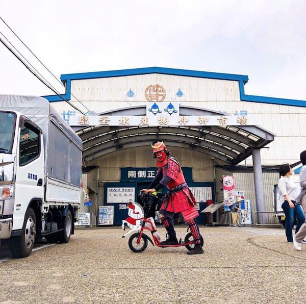 サムライジャパンプロジェクトの塩釜水産物仲卸市場の画像