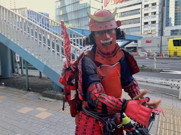 サムライジャパンプロジェクトのインタビュー中の画像
