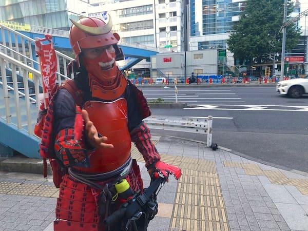 新宿で発見したサムライジャパンプロジェクト