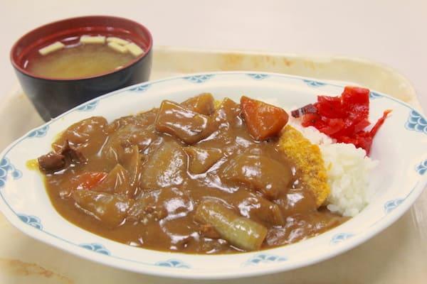 仙台市役所の社食のカツカレー