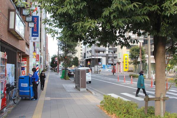 仙台駅東口付近の画像