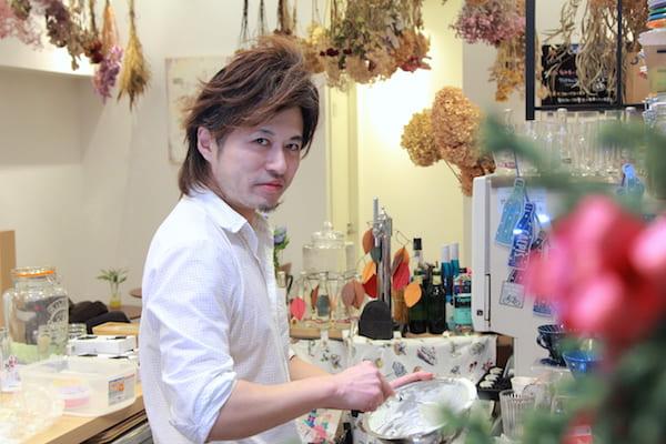 Calm日和の小松オーナー兼店長の画像