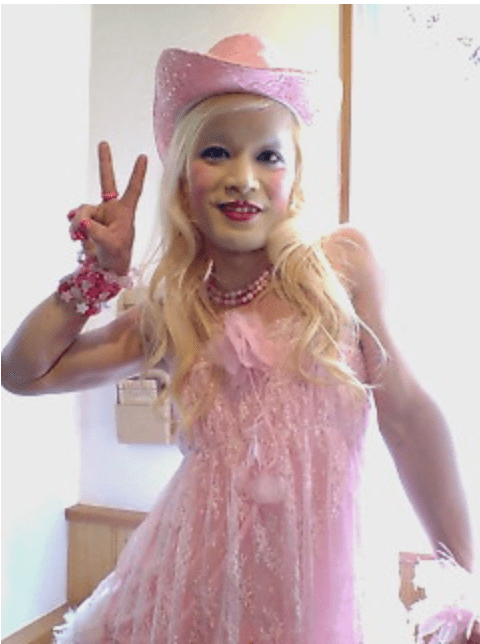 2009年のピンクのゆ〜じさんの画像