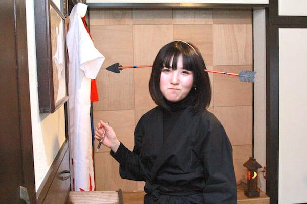 SHINOBI HOUSEの隠し文字チャレンジの画像