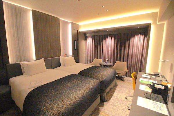 メトロポリタン仙台のエグゼクティブツインの室内画像
