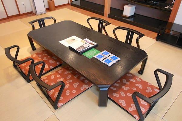 和室テーブルの画像