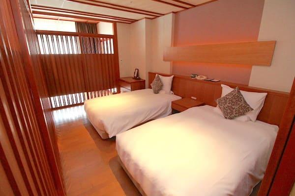 メトロポリタン仙台の和室の寝室の画像