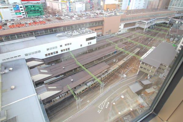 メトロポリタン仙台イーストの部屋からのビュー画像