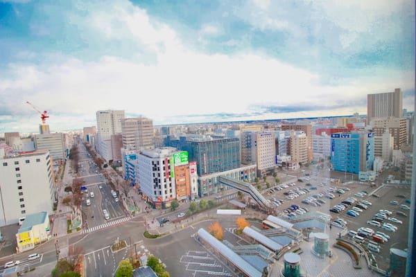 メトロポリタン仙台のプレミアムツインのビュー画像