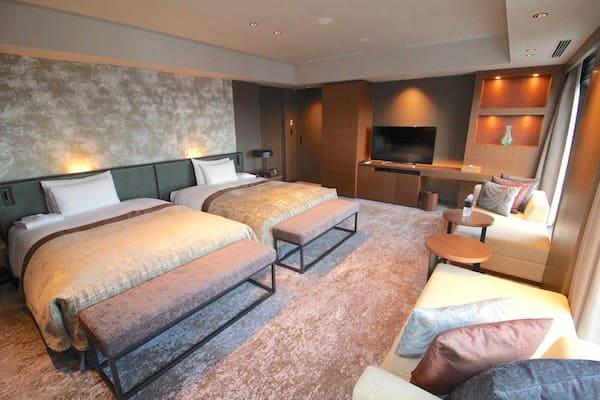 メトロポリタン仙台イーストのスイートのベッド画像