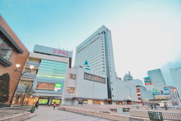 仙台駅から見るメトロポリタン仙台の画像