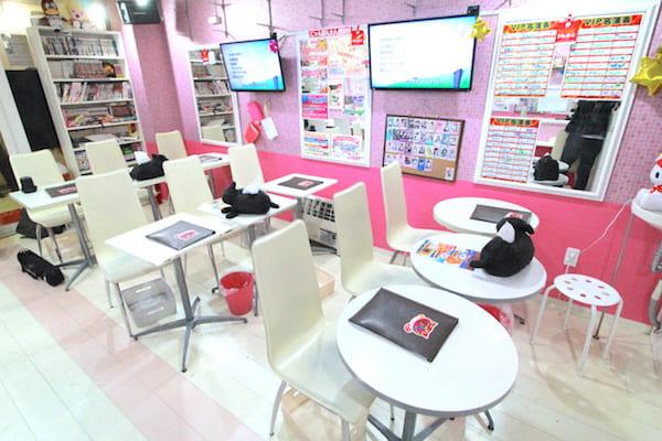 仙台のメイドカフェの店内の画像