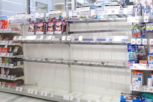 イオン仙台内にある調剤薬局のマスク事情
