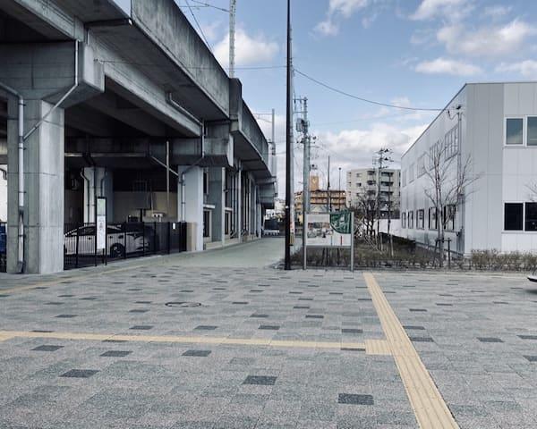 富沢駅の北出口の画像