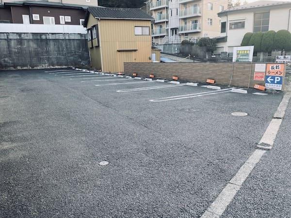 宮城県仙台市太白区の長町ラーメンの駐車場の画像