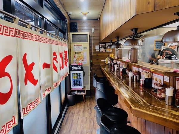 長町ラーメンの店内画像
