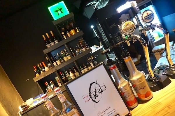 シューティングバーZEROのビールの画像