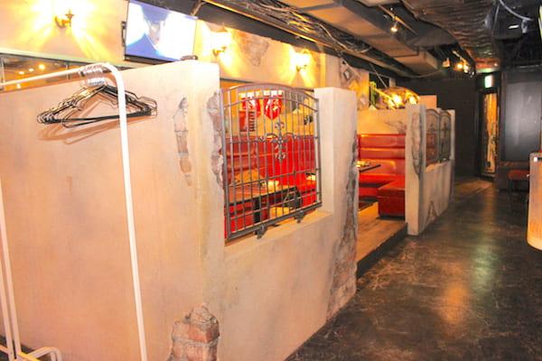 仙台のZEROの店内画像