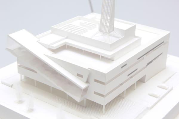KHB東日本放送の新社屋の完成イメージ