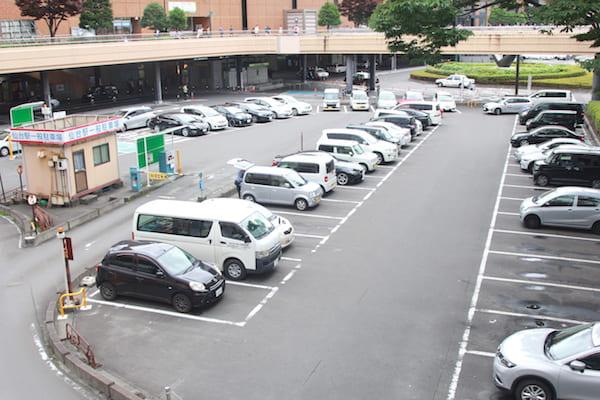 仙台駅の駐車場の画像