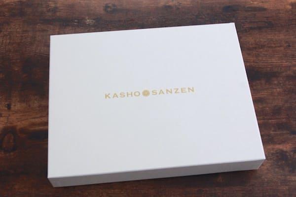 萩の月煌の箱のデザイン