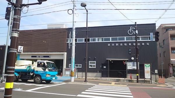 柴田パンの最寄駅の画像