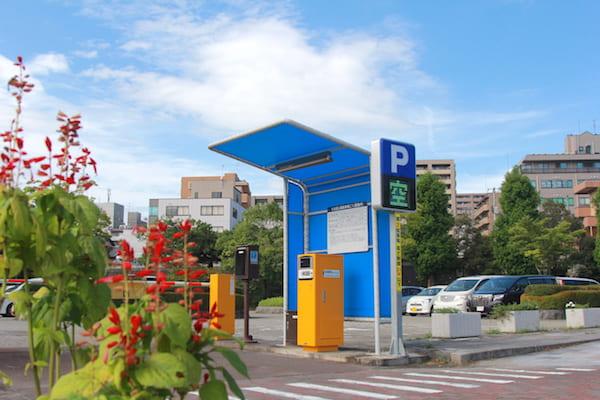 七北田公園の駐車場