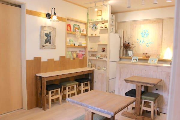 カフェこもれびの店内の画像