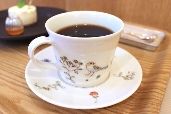 カフェこもれびのコーヒーの画像