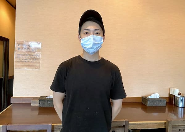 麺屋くまがいの店長の画像
