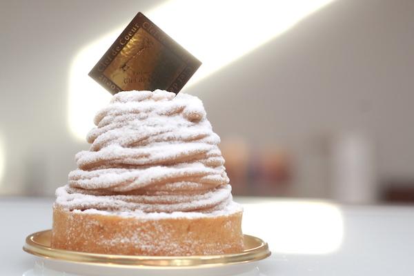 泉中央の人気ケーキ店のモンブランの画像