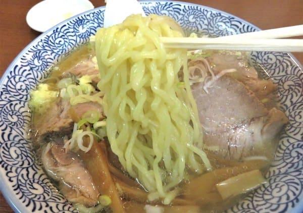 拉麺 そらたつのの麺の画像