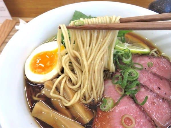 独眼竜の麺の画像