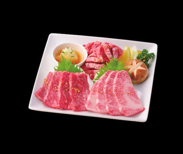 焼肉レストランひがしやまの仙台牛メニュー