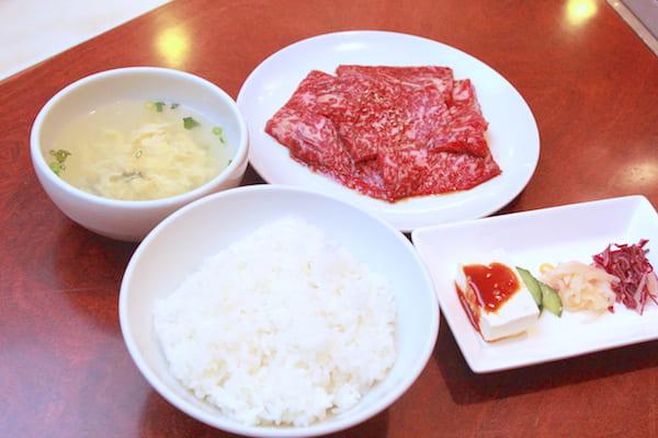 仙台牛カルビランチの画像