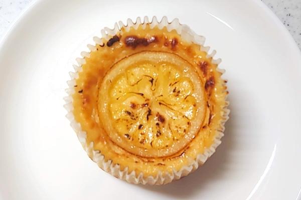 チーズとのレモンケーキの画像