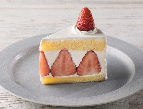 いちびこの定番人気ショートケーキ