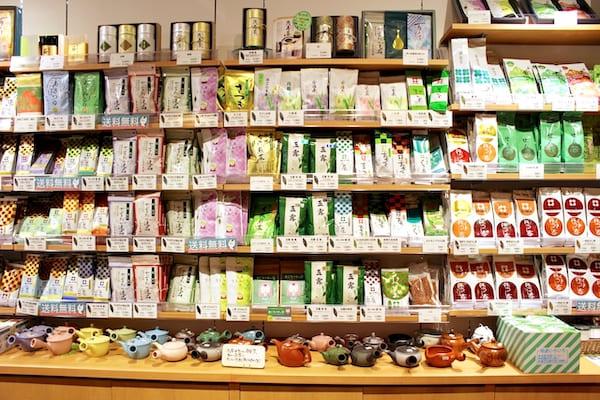 お茶の井ケ田で売っているお茶の種類