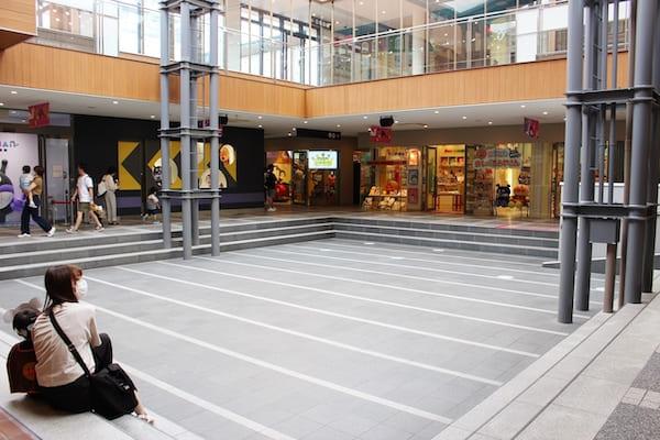 仙台の観光地・アンパンマンミュージアムの休憩場所